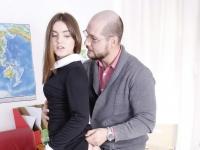 Karolin tricked into sex by an older teacher