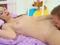 Marina : Marina is a sexy 18 year old virgin and lays in bed dreaming of sex. : sex scene #5
