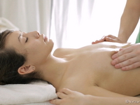 Ira : Ira moans with pleasure as her male masseuse rubs her sweet ass.  : sex scene #7