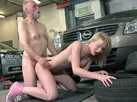 Sex with Young Frances Free Photo