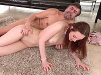 Erica : Teen babe gets caught masturbating and has to fuck her neighbor : sex scene #13