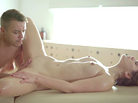 Karolin : Her first time was on the massage table : sex scene #6