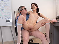 Michelle Can : Sweetie gives her teacher sex satisfaction. : sex scene #11
