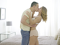 Jenny Manson : Sexy babe surrenders to sex charms of her hot lover. : sex scene #2