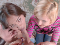 Asa Belle : Excited lad picks up two babes and seduces them into orgy : sex scene #7
