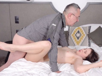 Nikka Hill : Hottie achieves her goal with the help of hard sex : sex scene #18