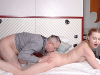 Ivi Rein : Cutie uses her body to pass the exam successfully : sex scene #17