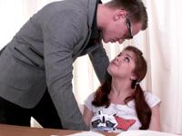 Renata Fox : Naughty brunette masturbates instead of listening to her teacher : sex scene #4