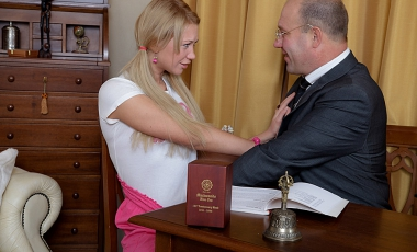 Sex with Young Galina Free Photo