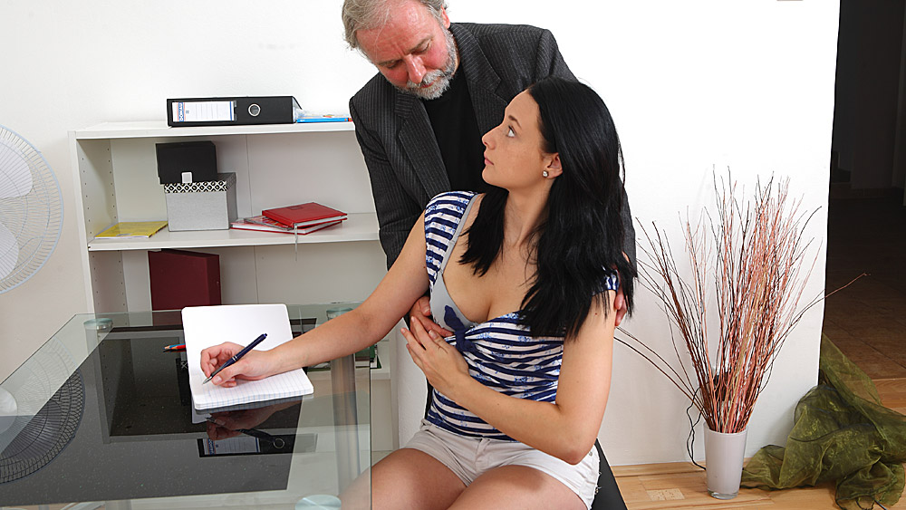 Her old man teacher porno #12