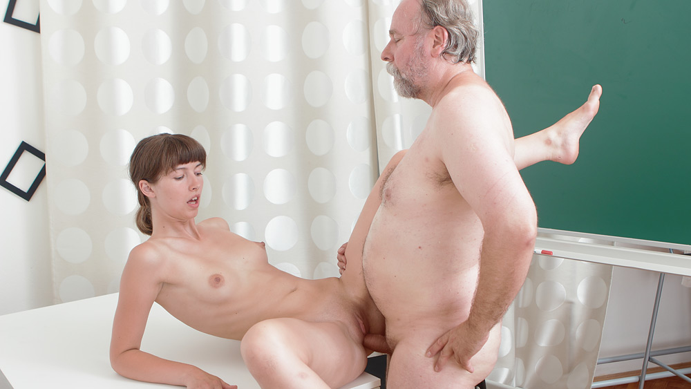Sexy fat teacher naked for
