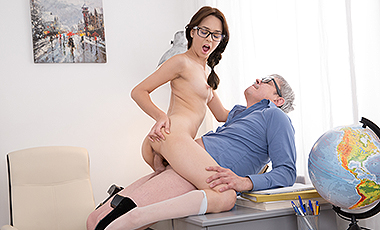 Old teacher porn