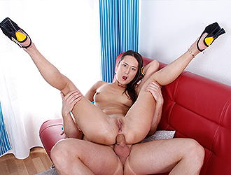Sex with Young Angelina Mori Free Photo