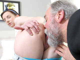 by fucked lady man movie old porn sexy youngs Teen rough blow slutload women forcing man to suck cock.