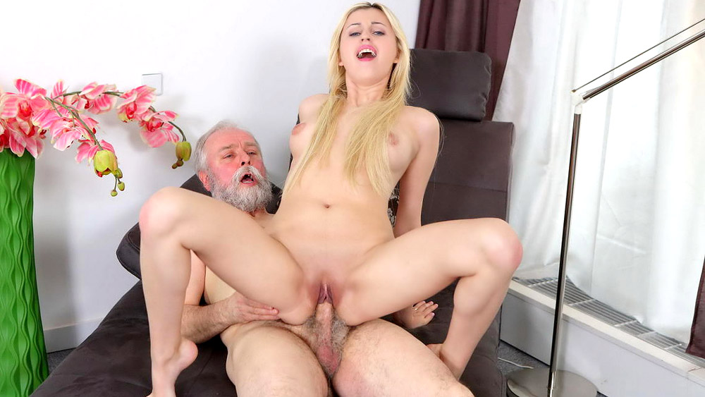 Girl dirty old man fucks