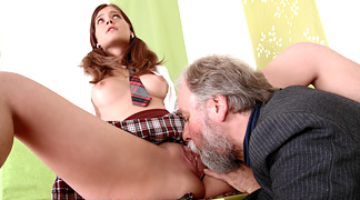 Handjob with swallow cumshot